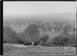 Langford, Somerset from the links c. 1935