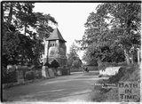 Clock Tower, Churchill nr.Langford, Somerset June 1935