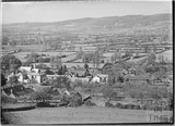 View from the hills of Burrington, Somerset March 1935