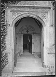 Lullington Church doorway, near Beckington, Somerset c. 13 October 1935