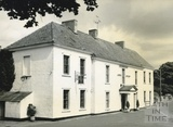 Old Down Inn, originally the Red Lion, at the intersection of the Bath to Wells and Bristol to Weymouth roads c.1950s