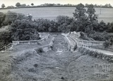 The abandoned Avoncliff Aqueduct c.1950