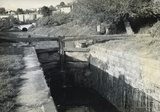 Top Lock in the Widcombe lock flight, Bath c.1950