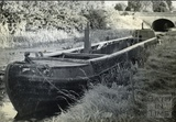 A narrowboat near the site of Darlington Wharf, Bath c.1950s