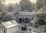 Double Bridge near Hallatrow c.1950s