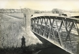 Somerset & Dorset railway bridge between Glastonbury and Highbridge c.1950s
