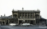 Green Park station exterior autumn 1967
