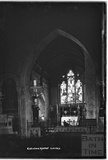 Inside Chewton Mendip Church c.1930s