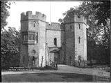 The Drawbridge and Gate of the Bishop's Palace, Wells c.1930s