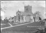St Mary Magdalene church, Ditcheat near Shepton Mallett, Somerset c.1936