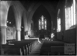 Inside Boreham Church, near Warminster, Wiltshire c.1910s