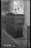 Reading Desk from St Mary Magdalene church, Ditcheat near Shepton Mallett, Somerset c.1936