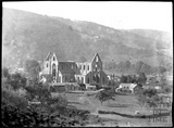 View of Tintern Abbey, Wye Valley, near Chepstow, Gwent c.1920s