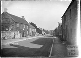 Street scene, Leigh on Mendip, Somerset 28 June 1935