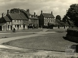 The village green at Biddestone, 1950s