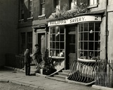 The Morning Post. Elton House and Philippa Savery Antiques, Abbey Green, Bath c.1956