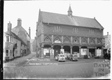 Town Hall, Castle Cary, Somerset, February 1935