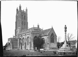 All Saint's church, Wrington, North Somerset, June 1935