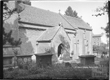 St John the Evangelist church, Elkstone, Gloucestershire, c.1934