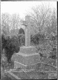 Memorial St Andrews Old Church, Holcombe, near Stratton on the Fosse, Somerset, March 1938