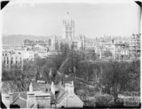View of Bath Abbey, The Grand Pump Room and Empire Hotels c.1910s