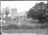St Andrews Old Church, Holcombe, near Stratton on the Fosse, Somerset, March 1938