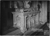 Alter tomb of Edward, sixth Lord Stourton, Stourton church of St Peter c.1930s
