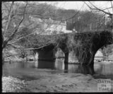 The bridge at Iford Manor, c.1900s