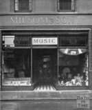 The premises of Milsom & Son, Northgate Street, Bath 1948