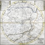 A Plan of 5 Miles Round the City of Bath, Savage & Meyler 1805