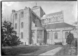 Romsey Abbey from the southeast, Hampshire, c.1935