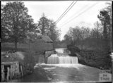 Riverside scene, probably Alford, near Castle Carey, Somerset, c.1930s