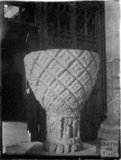 Font, Church of the Holy Cross, Ramsbury, Wiltshire, c.1930s