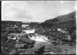 River scene, near Capel Curig, North Wales c.1920s