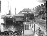 The quayside at Weymouth, 1924
