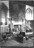 Interior of Coker Court, East Coker, Somerset, c.1920s
