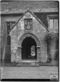 Arched porch to the Manor house, East Coker, Somerset, c.1920s