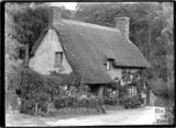 Cottage at the end of Park Street, Dunster, Somerset, c.1910