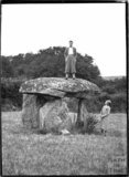 Spinster's Rock, near Chagford, Dartmoor, Devon 1928