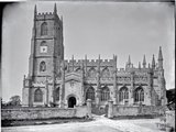 St Mary's Church, Steeple Ashton, Wiltshire, c.1890s