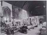 Inside Coker Court, East Coker near Yeovil, Somerset c.1920s