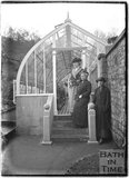 Greenhouse at Monkton House, c.1900s