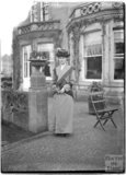 An older lady posing at Monkton House, c.1900s