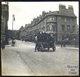 Gay Street from Queen Square at time of Diamond Jubilee celebrations, 1897