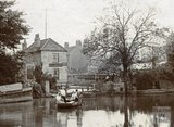 Old Ferry, Twerton c. 1880 - detail