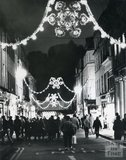 Christmas Lights in Stall Street, Bath, 1985