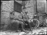 Cyclists rest, c.1900s