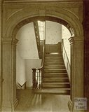Staircase, Rosewell House, Entrance Hall, Kingsmead Square, Bath, c.1880s