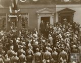 Unveiling a Tablet to Admiral Lord Nelson, 2 Pierrepoint Street, c.1900
