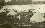 New Marquee Section, Bath War Hospital, Combe Park, Bath c.1916